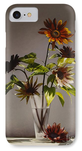 Assorted Sunflowers IPhone Case by Larry Preston