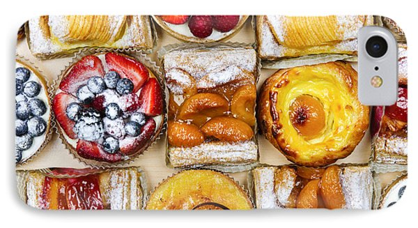 Assorted Tarts And Pastries Phone Case by Elena Elisseeva