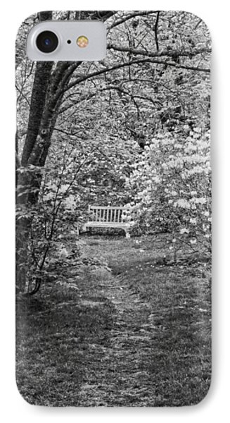 Asticou Azelea Garden On Mount Desert Island Maine IPhone Case by Keith Webber Jr