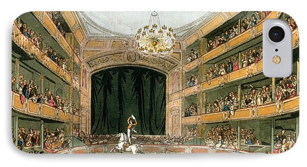 Astleys Ampitheatre, From Ackermanns IPhone Case by T. & Pugin, A.C. Rowlandson