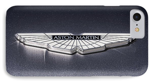 Aston Martin Badge IPhone Case by Douglas Pittman