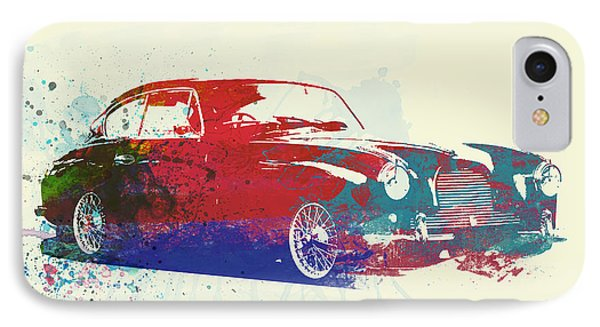Aston Martin Db2 IPhone Case by Naxart Studio