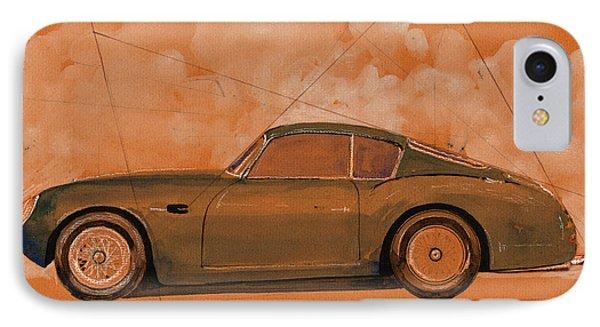 Aston Martin Db4 Gt Zagato IPhone Case by Juan  Bosco