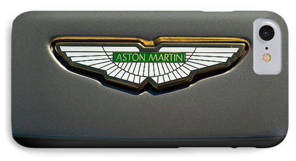 Aston Martin Emblem IPhone Case