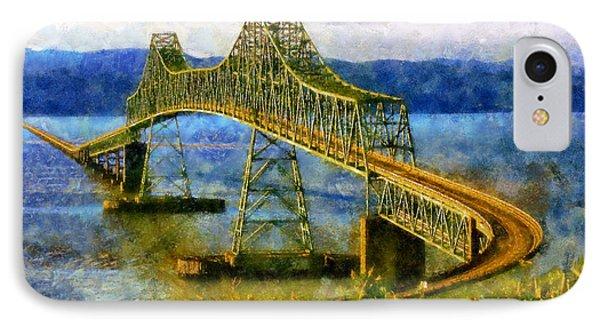 Astoria Megler Bridge IPhone Case