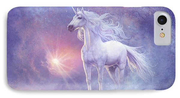 Astral Unicorn IPhone Case by Steve Read