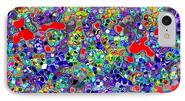 IPhone Case featuring the digital art Astratto - Abstract 22 by Ze  Di