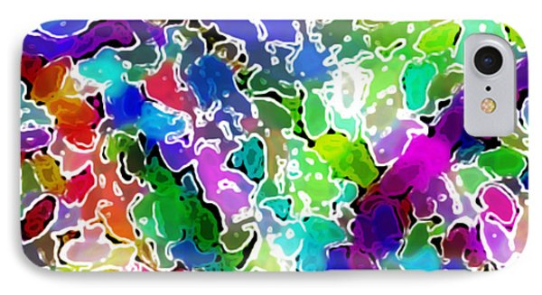 IPhone Case featuring the digital art Astratto - Abstract 24 by Ze  Di