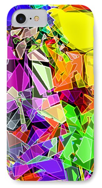IPhone Case featuring the digital art Astratto - Abstract 51 by Ze  Di
