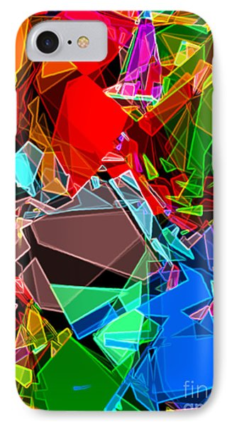 IPhone Case featuring the digital art Astratto - Abstract 52 by Ze  Di