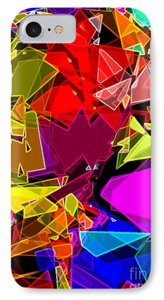 IPhone Case featuring the digital art Astratto - Abstract 53 by Ze  Di