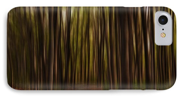 Astray- Walking Path Art IPhone Case by Lourry Legarde
