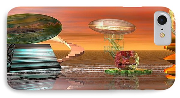 IPhone Case featuring the digital art Astro Space by Jacqueline Lloyd
