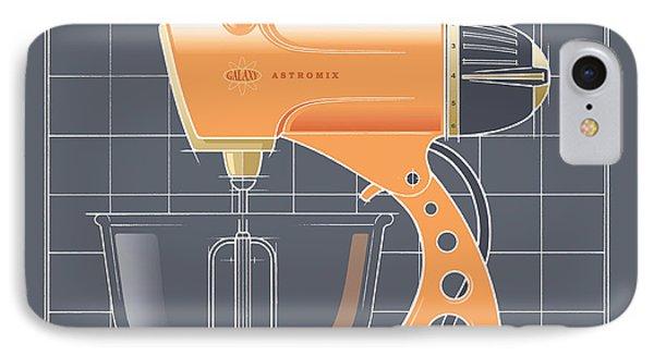 Astromix -tangerine IPhone Case