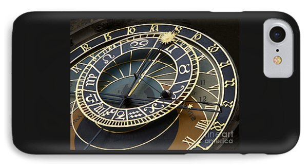 Astronomical Clock IPhone Case by Ann Horn