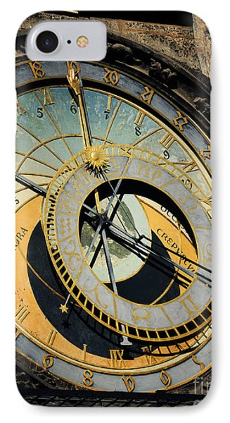 Astronomical Clock In Prague Phone Case by Jelena Jovanovic