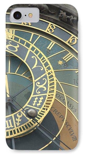 Astronomical In Prague IPhone Case by Caroline Stella