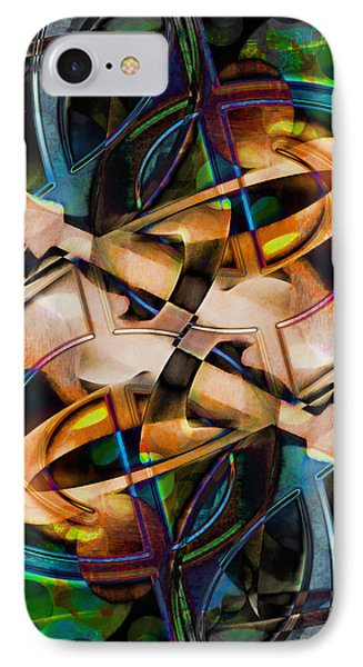 Asturias In G Minor Abstract IPhone Case by Georgiana Romanovna