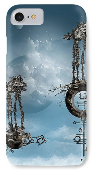 IPhone Case featuring the digital art At-at Arrival by Andy Walsh