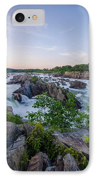 At Great Falls IPhone Case by Kristopher Schoenleber