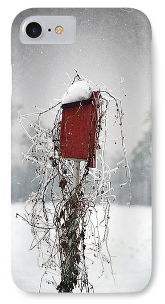 At Home In The Snow IPhone Case by Beverly Stapleton