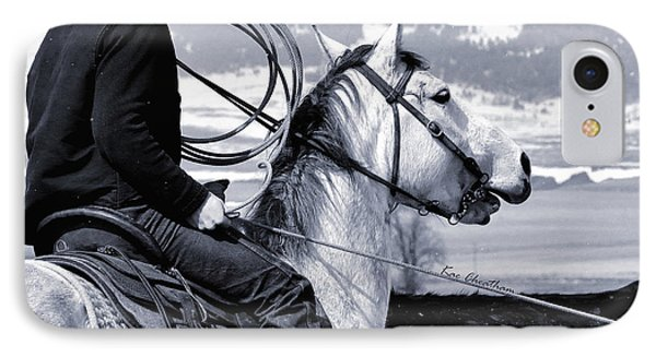 At Home On The Range - 2 IPhone Case by Kae Cheatham