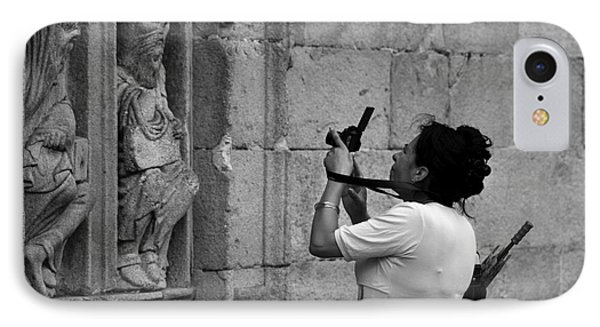At Least Try And Smile While The Lady Takes Your Photo..... IPhone Case