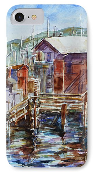 At Monterey Wharf Ca IPhone Case by Xueling Zou
