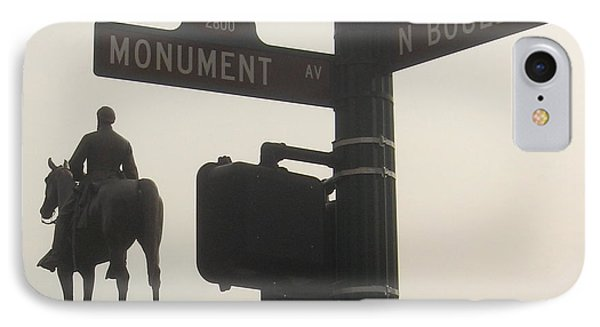at Monument and Boulevard IPhone Case