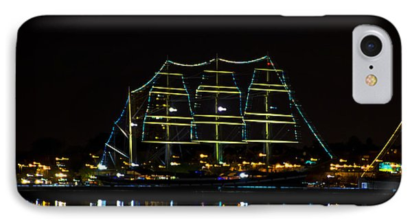 At Night On The  Delaware River - The Mushulu IPhone Case by Bill Cannon