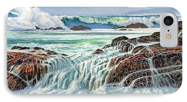 Pacific Ocean iPhone 7 Case - At Point Lobos by Paul Krapf