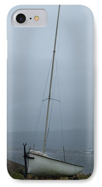 IPhone Case featuring the photograph At Rest At Meikle Ferry Scotland by Sally Ross