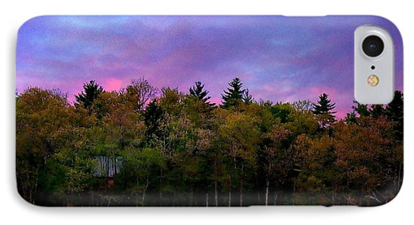 At Sunset Phone Case by Barbara S Nickerson