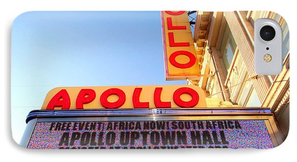 Apollo Theater iPhone 7 Case - At The Apollo by Ed Weidman