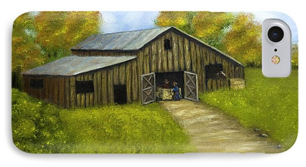 At The Barn IPhone Case