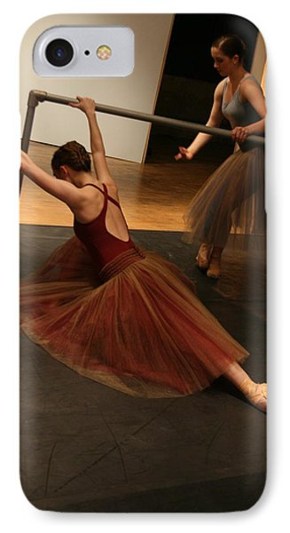 At The Barre IPhone Case by Kate Purdy