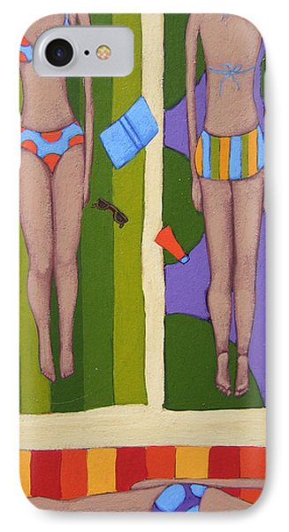 Bikinis At The Beach IPhone Case by Christy Beckwith