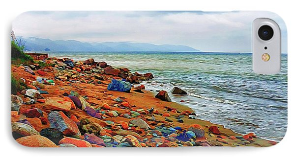 IPhone Case featuring the photograph At The Beach In Puerto Vallarta by John  Kolenberg
