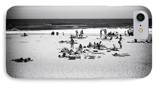 At The Beach Phone Case by John Rizzuto