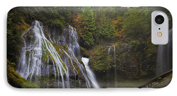 At The Bottom Of Panther Creek Falls Phone Case by David Gn