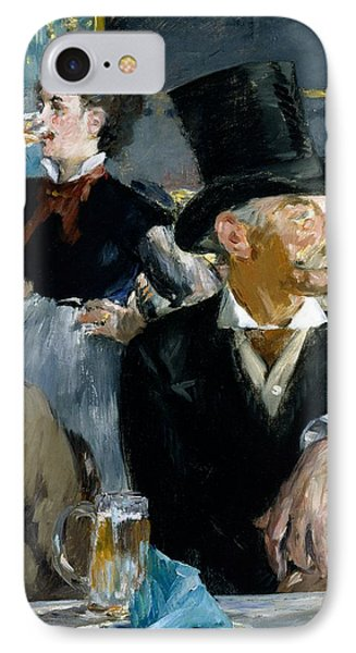 At The Cafe Concert IPhone Case by Edouard Manet