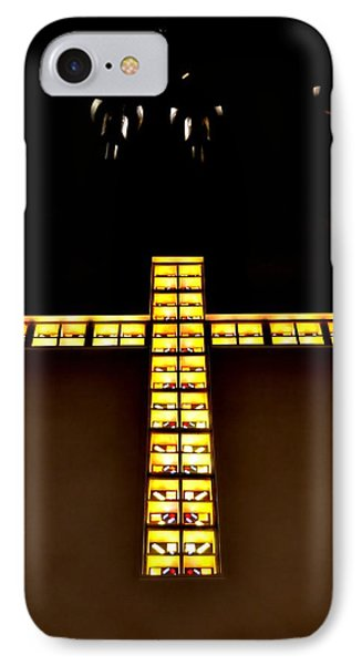 At The Cross IPhone Case by Deena Stoddard
