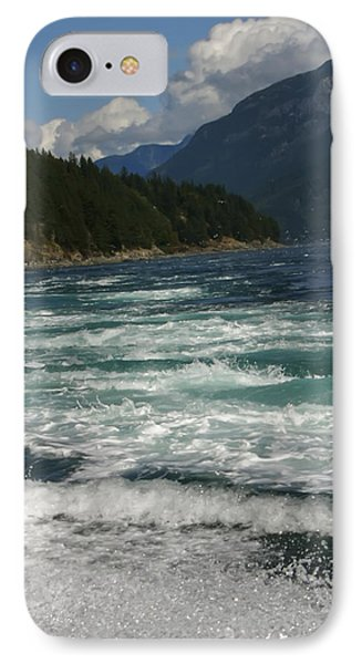 IPhone Case featuring the photograph At The Edge by Rhonda McDougall