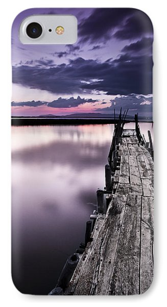 At The End Phone Case by Jorge Maia