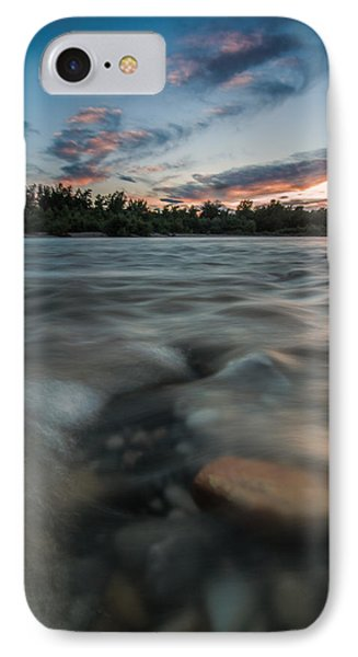 At The End Of The Day Phone Case by Davorin Mance