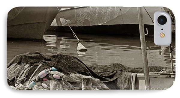 IPhone Case featuring the photograph At The Harbor by Arik Baltinester