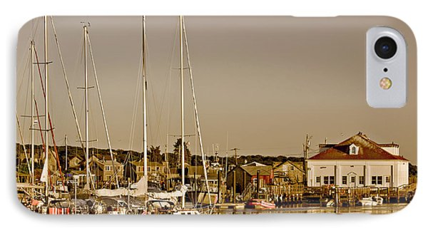 At The Harbor - Martha's Vineyard Phone Case by Kim Hojnacki