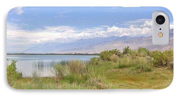 IPhone Case featuring the photograph At The Lake by Marilyn Diaz