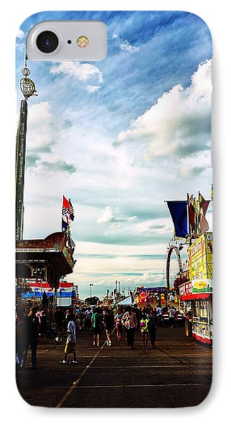 IPhone Case featuring the photograph At The Ohio State Fair 2013 by Beth Akerman