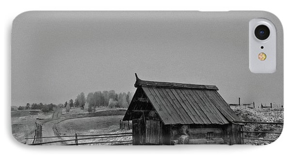 At The Outskirts Of The Village IPhone Case by Evgeniy Lankin